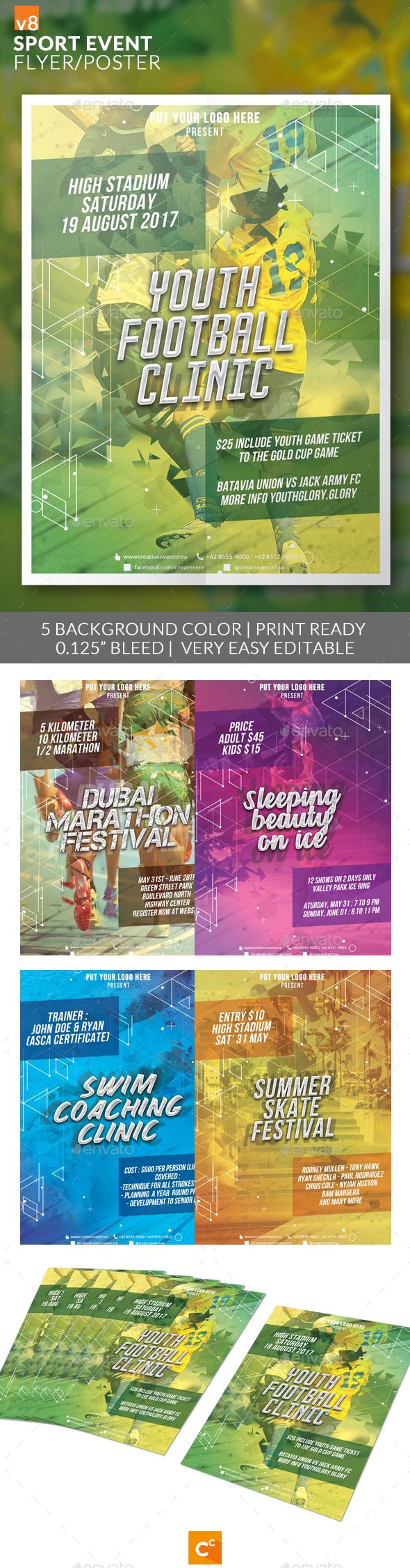 Sport Event Flyer/Poster v8 - Sports Events
