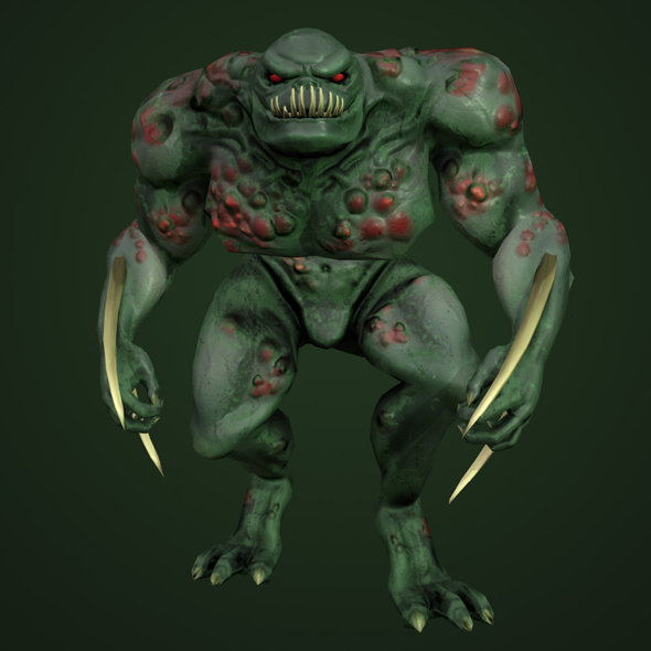 Monster Bog lord - 3DOcean Item for Sale