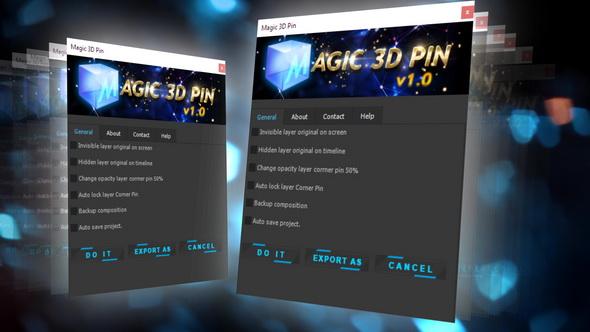 VideoHive Magic 3D Pin 20521794