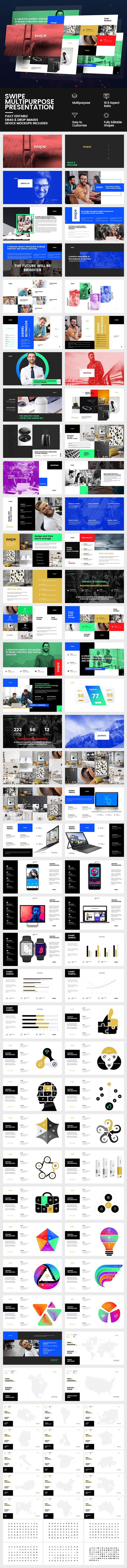 GraphicRiver Swipe Multipurpose Presentation 20503875