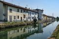Gorgonzola (Milan): canal of Martesana