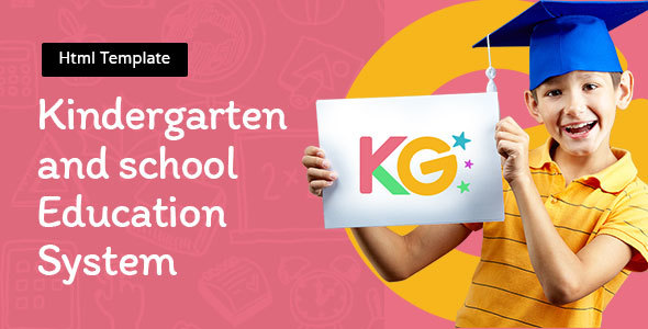 Kindergarten - Education School Template - Nonprofit Site Templates