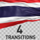 Thailand Flag Transitions - VideoHive Item for Sale