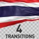 Thailand Flag Transitions