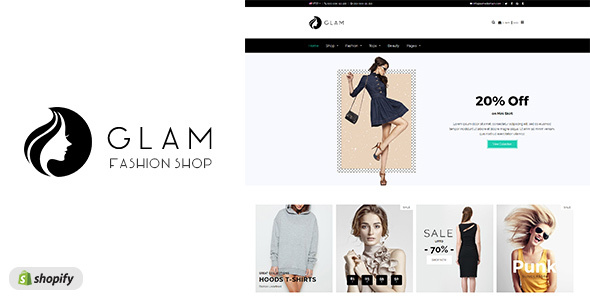 Glam - Multi-purpose Fashion Shopify Theme