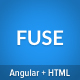 Fuse - Angular4+ & AngularJS & Bootstrap 4 HTML Material Design Admin Template - ThemeForest Item for Sale