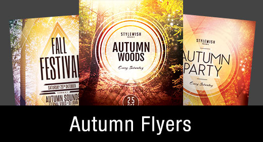 * Autumn Flyer Templates