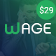 Wage - Business and Finance WordPress Theme - ThemeForest Item for Sale