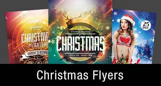 * Christmas Flyer Templates