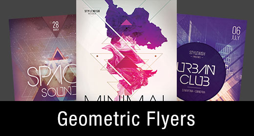 * Geometric Flyer Templates
