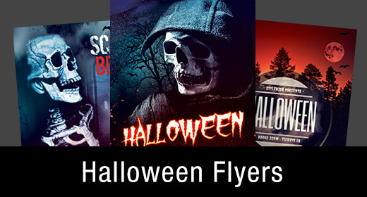 * Halloween Flyer Templates