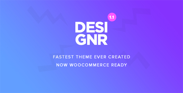 Designr - Ultimate Multi-Purpose Responsive Theme