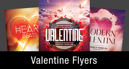 * Valentine Flyer Templates