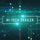 Hi-Tech Trailer - VideoHive Item for Sale