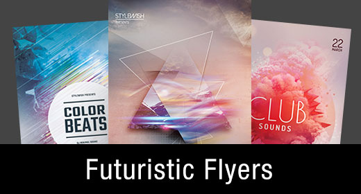 * Futuristic Flyer Templates