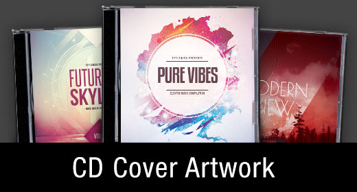 * CD Cover Artwork Templates