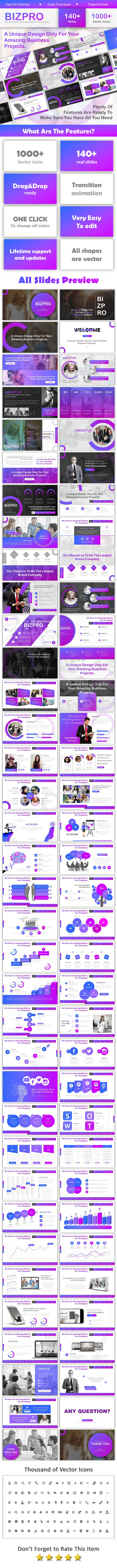 Bizpro Creative Powerpoint - Business PowerPoint Templates