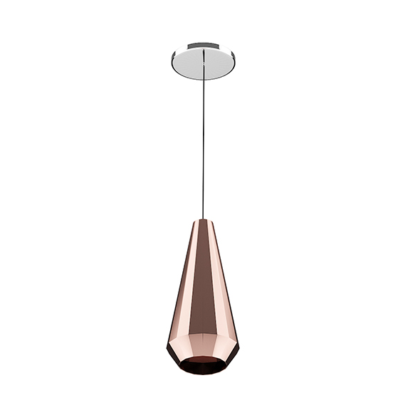 3DOcean Ceiling Lamp with Copper Shade 20522908