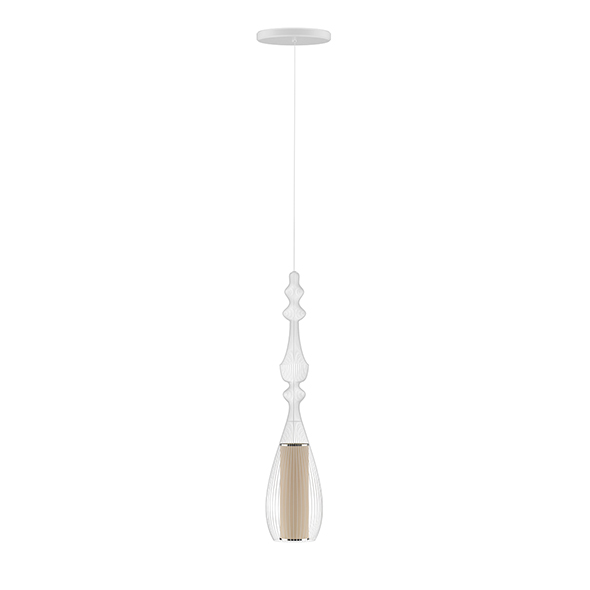 3DOcean Ceiling Lamp with Wire Shade 20522931
