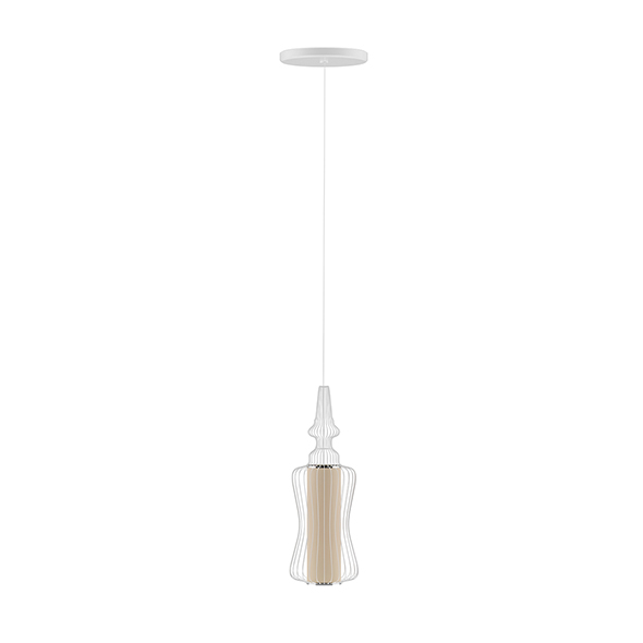 3DOcean Ceiling Lamp with Wire Shade 20522947