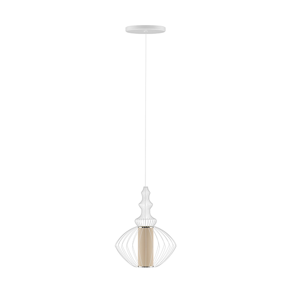 Ceiling Lamp with Wire Shade - 3DOcean Item for Sale