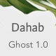 Dahab - Minimal Blog and Magazine Ghost Theme