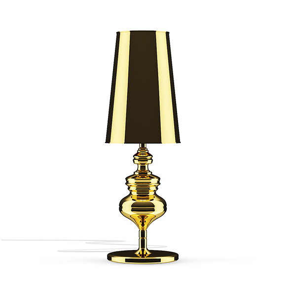 3DOcean Golden Desk Lamp 20522983