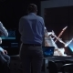 People Working in Mission Control Center - VideoHive Item for Sale