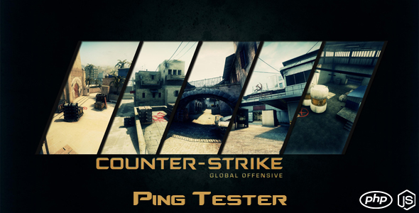 CodeCanyon Counter Strike Global Offensive Ping Tester 20523363