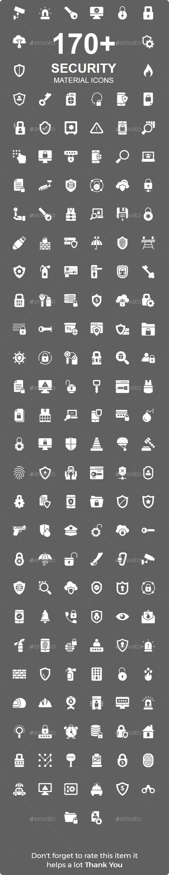 Security Material icon - Business Icons