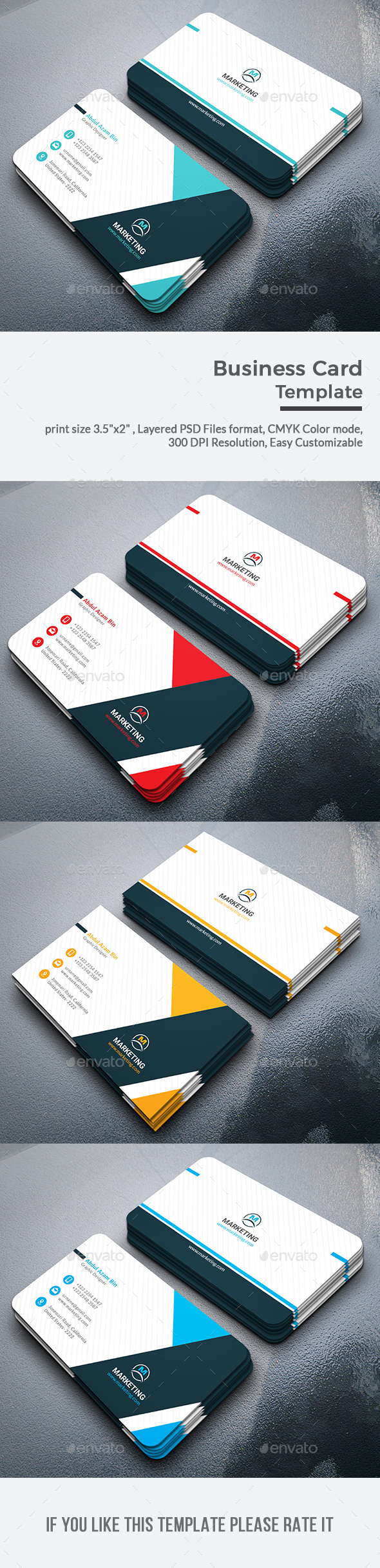 GraphicRiver Business Cards 20503836