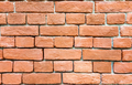 Fragment old brick wall.