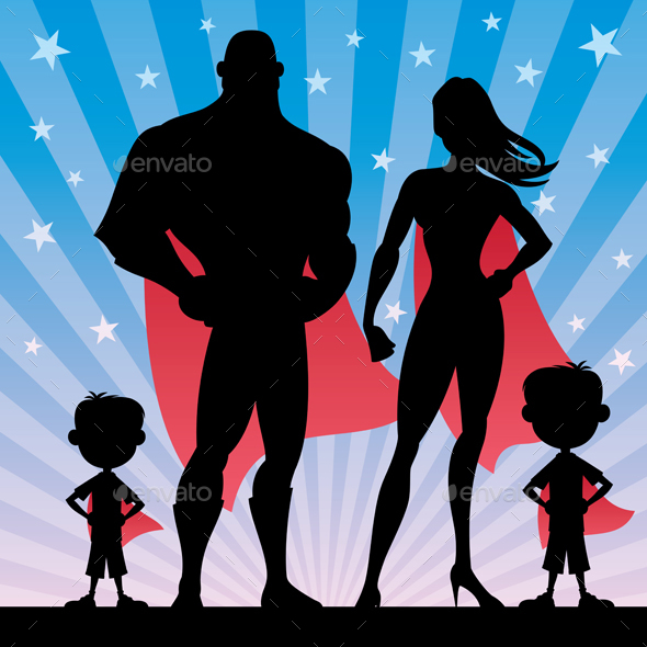 Superhero Family Boys - Miscellaneous Characters