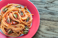 Portions of colorful spaghetti  - PhotoDune Item for Sale