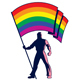 Pride Flag Bearer - GraphicRiver Item for Sale