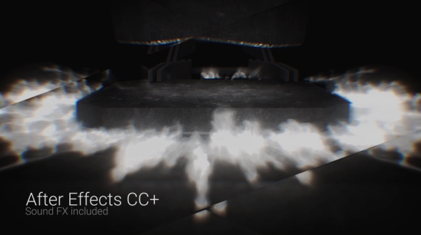 Blacksmith logo 3d object after effects templates f5 for Habitacion 3d after effects
