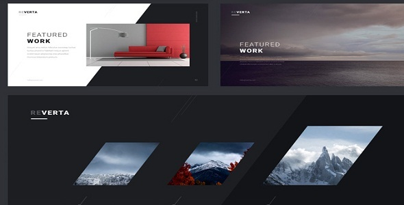 Reverta - Creative Multipurpose HTML Template