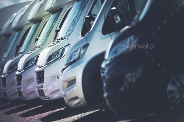 RV Motorhomes Industry - Stock Photo - Images