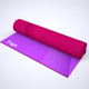 Printed Yoga Mat Exercise Rug Mock-Up - GraphicRiver Item for Sale