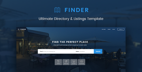 Finder – Ultimate Directory &amp Listings Template (Miscellaneous)
