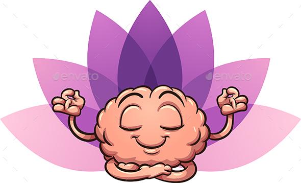 GraphicRiver Meditating Brain 20524399