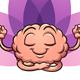 Meditating Brain - GraphicRiver Item for Sale