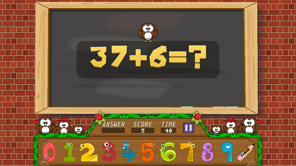 Math For Kids - HTML5 Kids Educational Game by Javanie | CodeCanyon