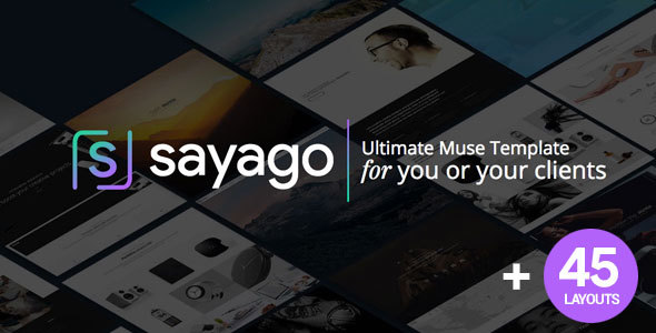 Sayago - Ultimate Muse Template