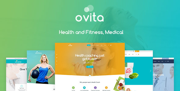 Ovitahealth - Onepage Multipurpose WordPress Theme