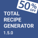Total Recipe Generator - Visual Composer Addon