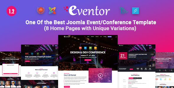 Eventor Joomla