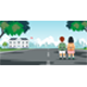 Students Walk to School - GraphicRiver Item for Sale
