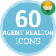 Agent Realtor Apartment Broker Real Estate Animation - Flat Icons and Elements