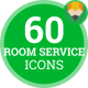 Hotel Room Service Animation - Flat Icons and Elements - VideoHive Item for Sale